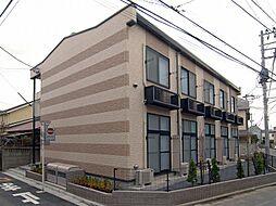 東京都江戸川区大杉1丁目の賃貸アパートの外観