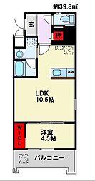 Apartment 3771[306号室]の間取り