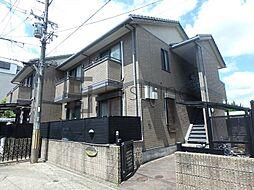 京都府京都市伏見区深草ケナサ町の賃貸アパートの外観