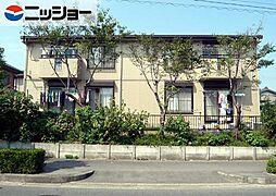 ソファレ花園B棟[2階]の外観