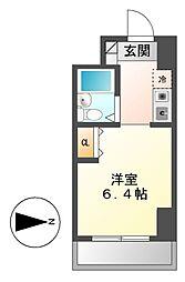 シティパル名古屋[9階]の間取り