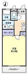 キャッスルマキユーカリが丘[3階]の間取り