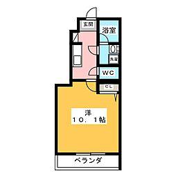 ダフネ[1階]の間取り