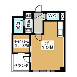 愛知県名古屋市港区正保町8の賃貸マンションの間取り