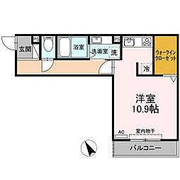 メイユール東丸[1階]の間取り