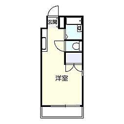 LUXYマンション[105号室]の間取り