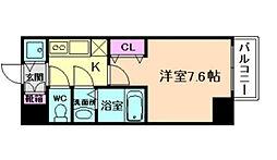アクアプレイス福島EYE[5階]の間取り