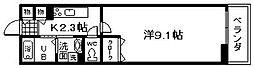 メゾン尾崎[1階]の間取り