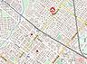 地図,1K,面積25.24m2,賃料4.4万円,JR函館本線 琴似駅 徒歩7分,JR学園都市線 八軒駅 徒歩8分,北海道札幌市西区八軒三条西1丁目6番21号