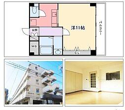 飾磨中村コーポ[1階]の間取り