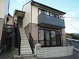 福岡県北九州市八幡西区上の原4丁目の賃貸アパートの外観
