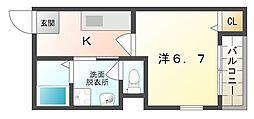 コンフォートチヒロ[3階]の間取り