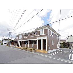 長野県長野市川中島町御厨の賃貸アパートの外観