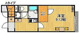 レオネクストマイヒルズ8843[1階]の間取り