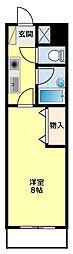 愛知県豊田市平芝町3丁目の賃貸マンションの間取り