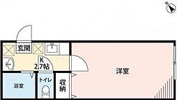 シャオラン青葉[201号室]の間取り
