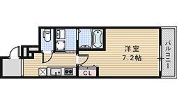フジパレス昭和町2丁目[3階]の間取り