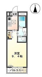 (仮)西町マンション[105号室]の間取り
