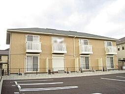愛知県岡崎市小呂町字ミタライの賃貸アパートの外観