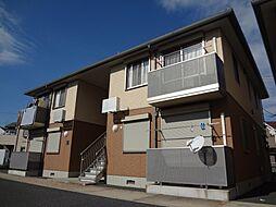 千葉県市原市辰巳台西4丁目の賃貸アパートの外観