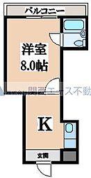 ハイツ富士パートII[4階]の間取り