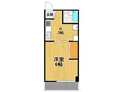 エムスタイル武庫之荘1[5階]の間取り