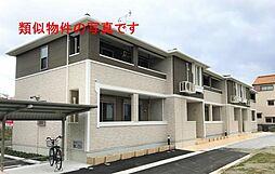 大阪府八尾市東山本町7丁目の賃貸アパートの外観