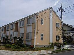 茨城県つくばみらい市絹の台5丁目の賃貸アパートの外観