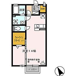 サン・アーミ[2階]の間取り