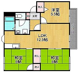 エクセル平井[2階]の間取り