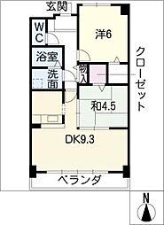 プレシャス・コート[2階]の間取り