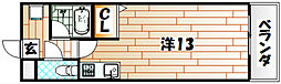 アクセス砂津[7階]の間取り