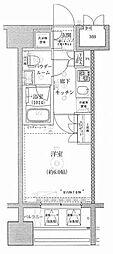 ライジングプレイス川崎[15階]の間取り
