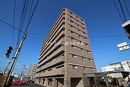 岡山県岡山市中区藤原の賃貸マンションの外観