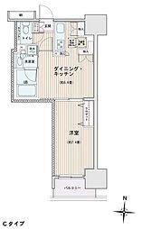 エスティメゾン錦糸町2[0405号室]の間取り