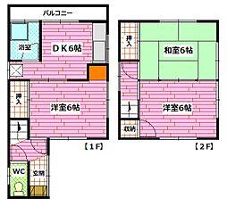 [一戸建] 広島県安芸郡海田町南幸町 の賃貸【/】の間取り