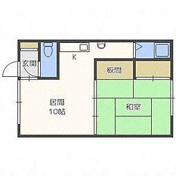 第2マンション永代[2階]の間取り