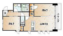 ルーヴル黄金[4階]の外観