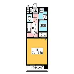 NEW PLACE[4階]の間取り