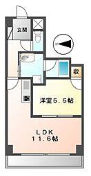 スタジオスクエア大須[5階]の間取り