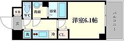 メインステージ京町堀[8階]の間取り