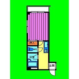 サンブライトマンション[3階]の間取り