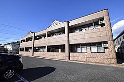 栃木県宇都宮市茂原3の賃貸アパートの外観