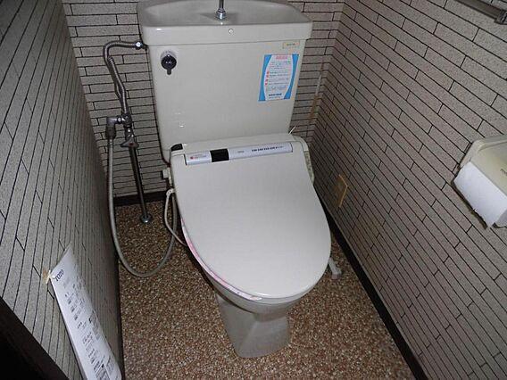 トイレは新品温...