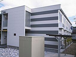 徳島県徳島市大原町長尾の賃貸アパートの外観