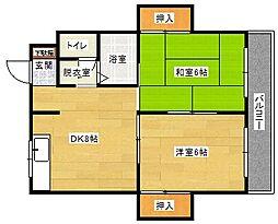 マンション・サコダ[102号室]の間取り