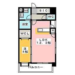 第11マルヤビル箱崎[9階]の間取り