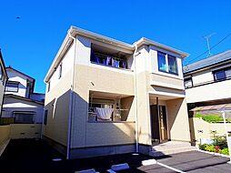 東京都東久留米市滝山7丁目の賃貸アパートの外観