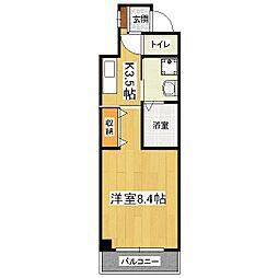 ドムスタレイア[3階]の間取り