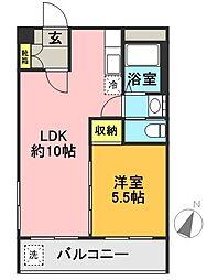 高井戸永谷マンション[812号室]の間取り